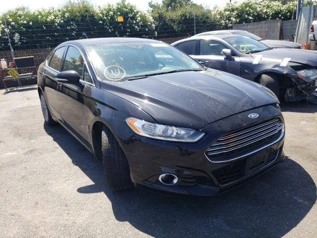 Salvage cars for sale from Copart San Martin, CA: 2016 Ford Fusion Titanium