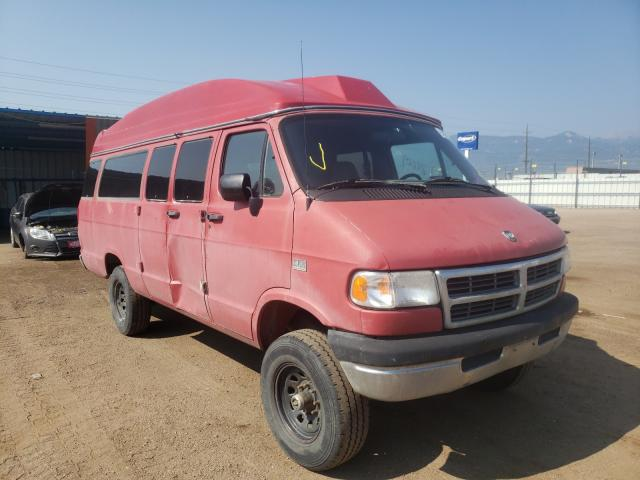 Salvage cars for sale from Copart Colorado Springs, CO: 1996 Dodge RAM Wagon