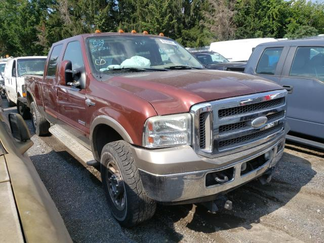 Salvage trucks for sale at Finksburg, MD auction: 2006 Ford F250 Super