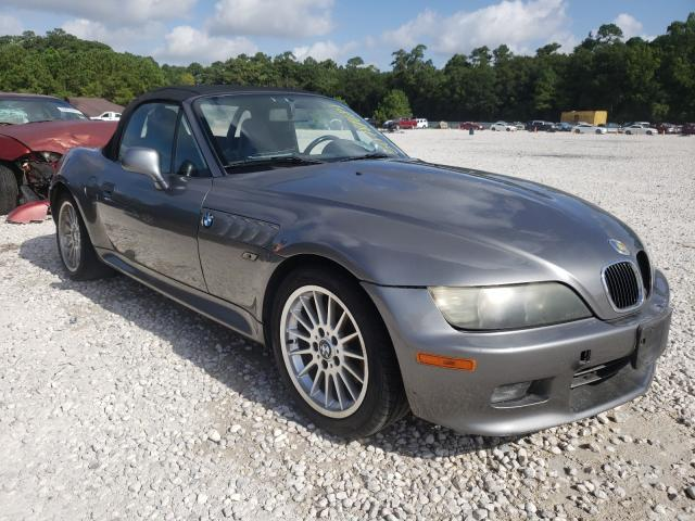 Salvage cars for sale from Copart Houston, TX: 2002 BMW Z3 3.0