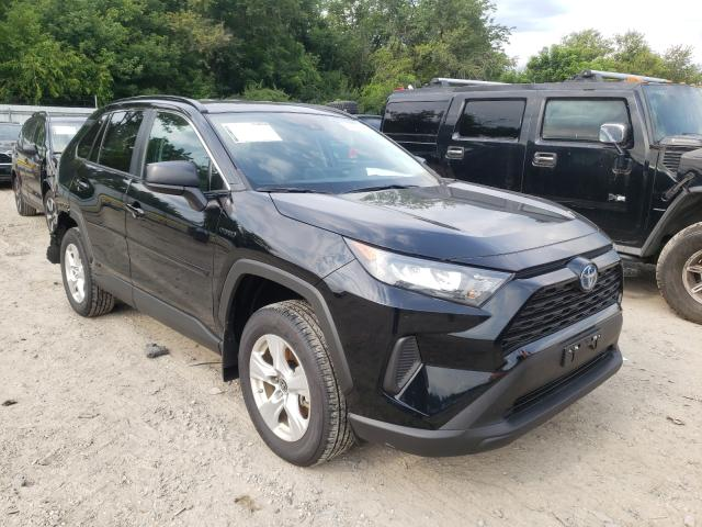Salvage cars for sale from Copart Glassboro, NJ: 2021 Toyota Rav4 LE