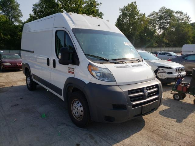 Salvage cars for sale from Copart Ellwood City, PA: 2018 Dodge RAM Promaster