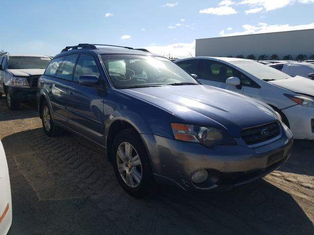 Salvage cars for sale from Copart Kapolei, HI: 2005 Subaru Legacy Outback