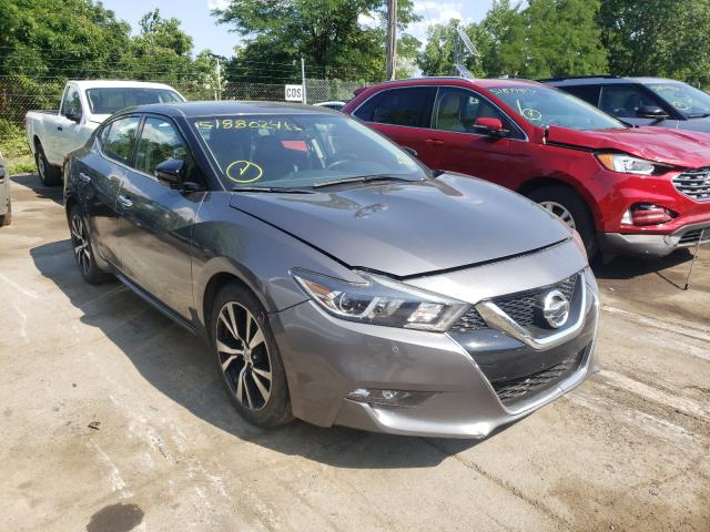 Salvage cars for sale from Copart Marlboro, NY: 2018 Nissan Maxima 3.5