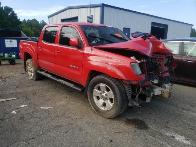 Salvage cars for sale from Copart Shreveport, LA: 2006 Toyota Tacoma DOU