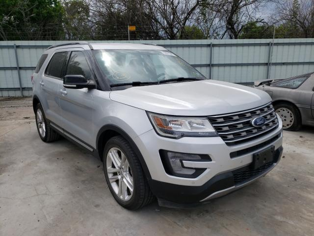 Salvage cars for sale from Copart Corpus Christi, TX: 2017 Ford Explorer X