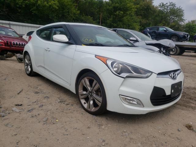 Salvage cars for sale from Copart Glassboro, NJ: 2013 Hyundai Veloster