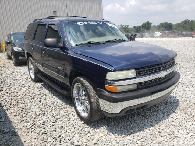 Salvage cars for sale from Copart Byron, GA: 2003 Chevrolet Tahoe C150
