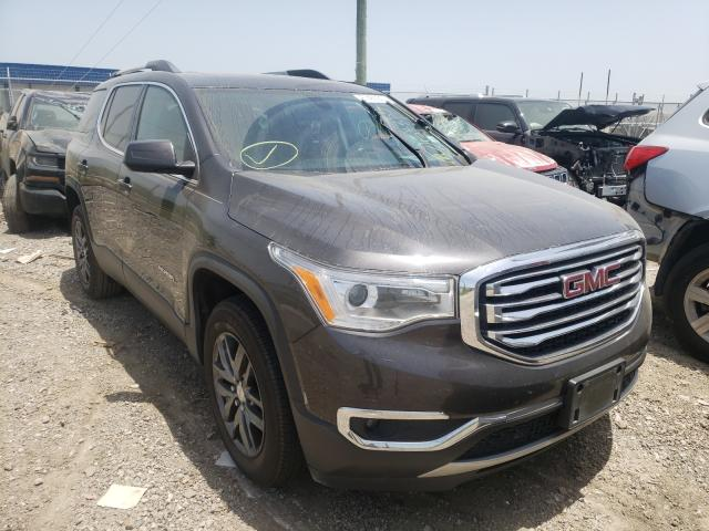 Salvage cars for sale from Copart Houston, TX: 2017 GMC Acadia SLT