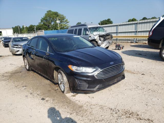Salvage cars for sale at Florence, MS auction: 2019 Ford Fusion SE