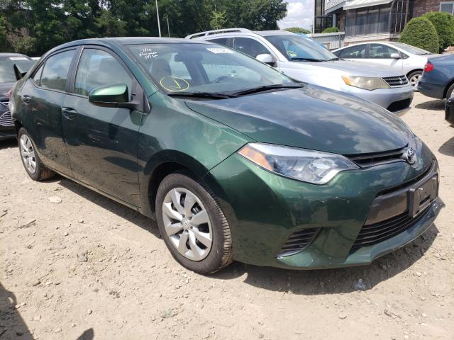 Salvage cars for sale from Copart Billerica, MA: 2016 Toyota Corolla L