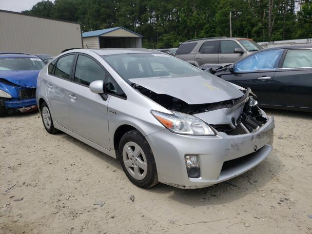 Salvage cars for sale from Copart Seaford, DE: 2011 Toyota Prius