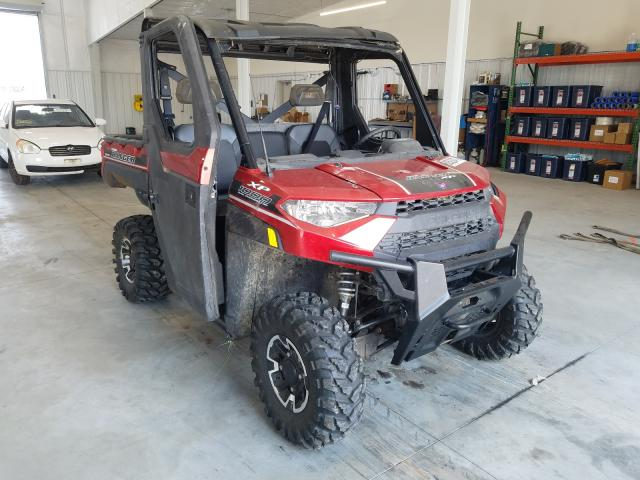 Salvage cars for sale from Copart Avon, MN: 2018 Polaris Ranger XP