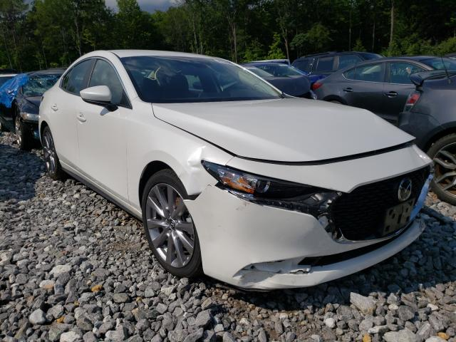 Salvage cars for sale from Copart Candia, NH: 2020 Mazda 3 Select