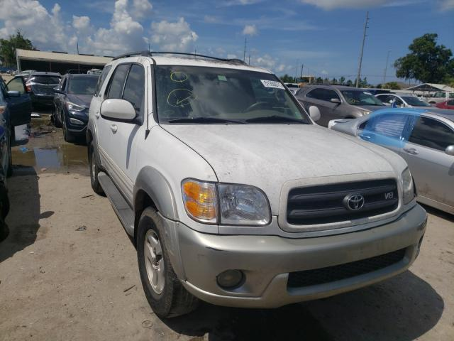 Salvage cars for sale from Copart Riverview, FL: 2004 Toyota Sequoia SR