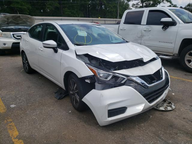Salvage cars for sale from Copart Eight Mile, AL: 2021 Nissan Versa SV
