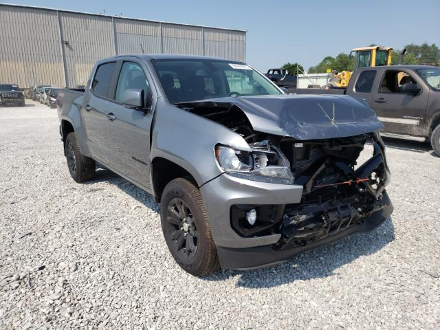 Salvage cars for sale from Copart Lawrenceburg, KY: 2021 Chevrolet Colorado L