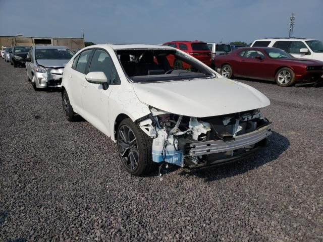 Salvage cars for sale from Copart Fredericksburg, VA: 2020 Toyota Corolla XS