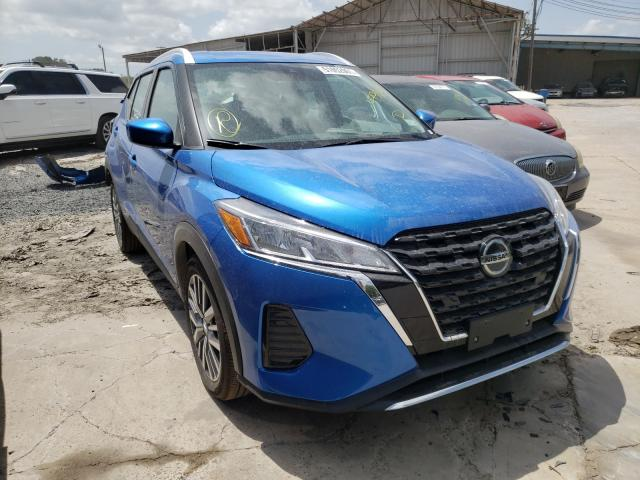 Salvage cars for sale from Copart Corpus Christi, TX: 2021 Nissan Kicks SV