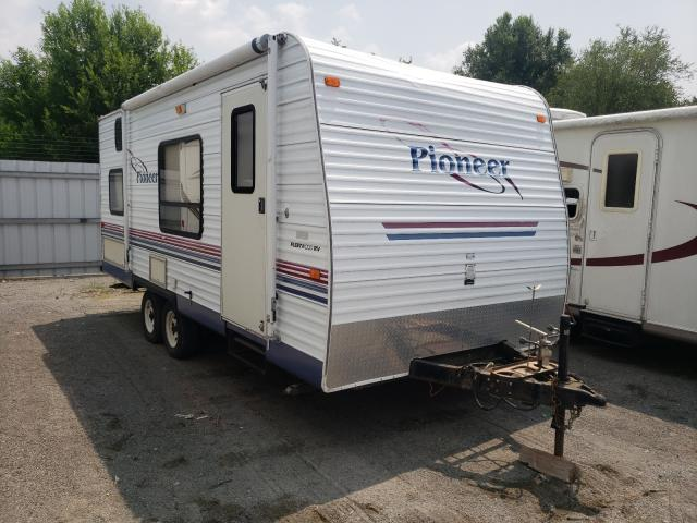 Salvage trucks for sale at Alorton, IL auction: 2004 Wildwood Pioneer