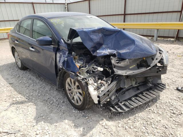 Salvage cars for sale from Copart Haslet, TX: 2018 Nissan Sentra S
