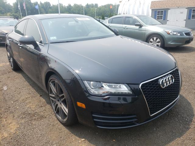 Salvage cars for sale at East Granby, CT auction: 2014 Audi A7 Premium