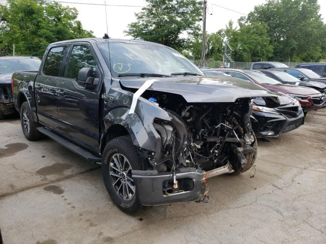 Salvage cars for sale from Copart Marlboro, NY: 2020 Ford F150 Super