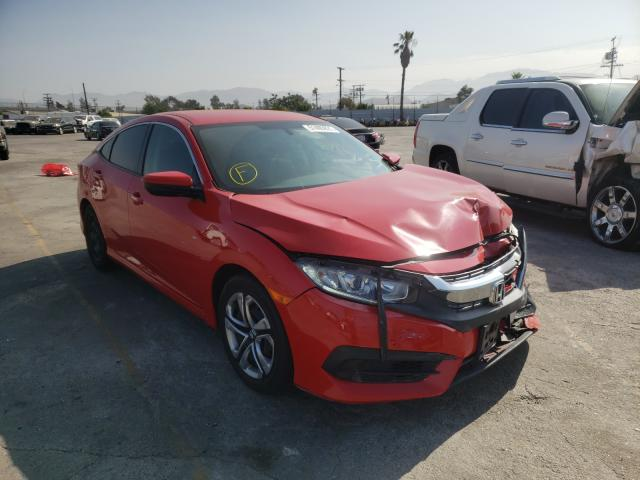 Salvage cars for sale from Copart Sun Valley, CA: 2018 Honda Civic LX