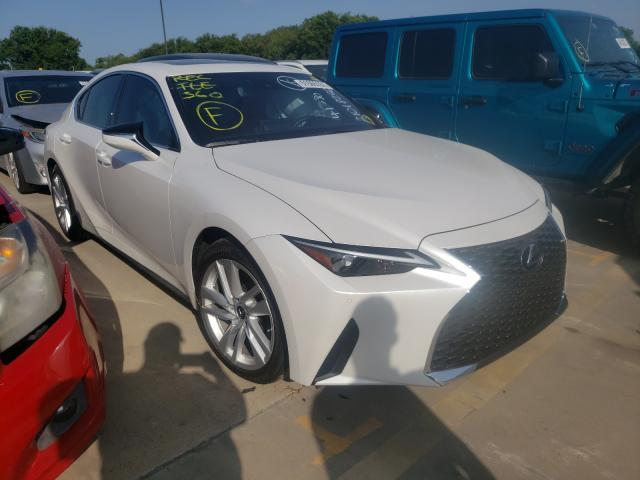 Vehiculos salvage en venta de Copart Wilmer, TX: 2021 Lexus IS 300