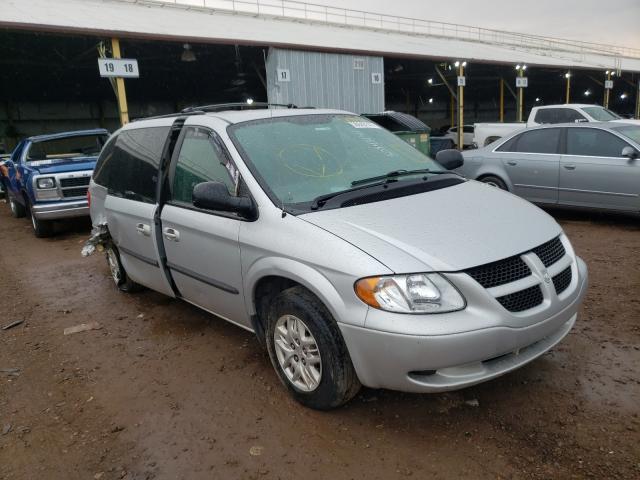 Salvage cars for sale from Copart Phoenix, AZ: 2003 Dodge Grand Caravan