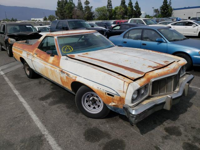 Ford Ranchero salvage cars for sale: 1974 Ford Ranchero