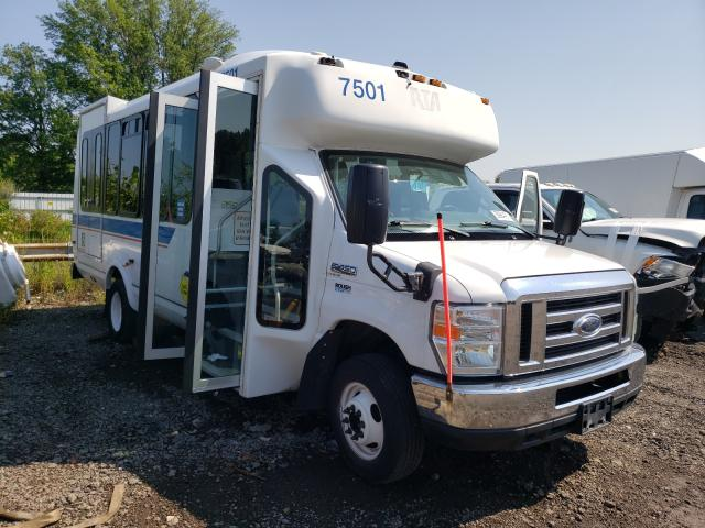 Salvage cars for sale from Copart Columbia Station, OH: 2013 Ford Econoline