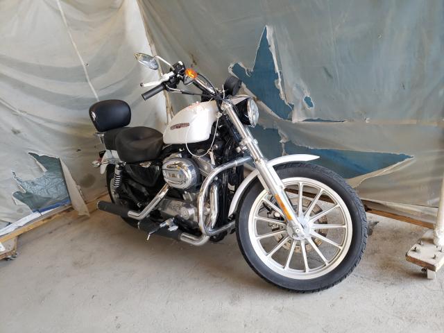 Harley-Davidson XL883 L salvage cars for sale: 2007 Harley-Davidson XL883 L