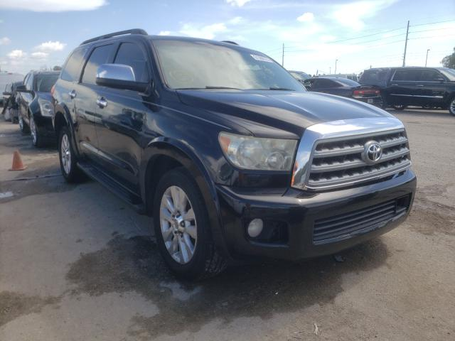 Salvage cars for sale from Copart Riverview, FL: 2010 Toyota Sequoia PL