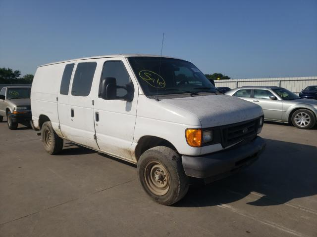 Salvage cars for sale from Copart Wilmer, TX: 2007 Ford Econoline