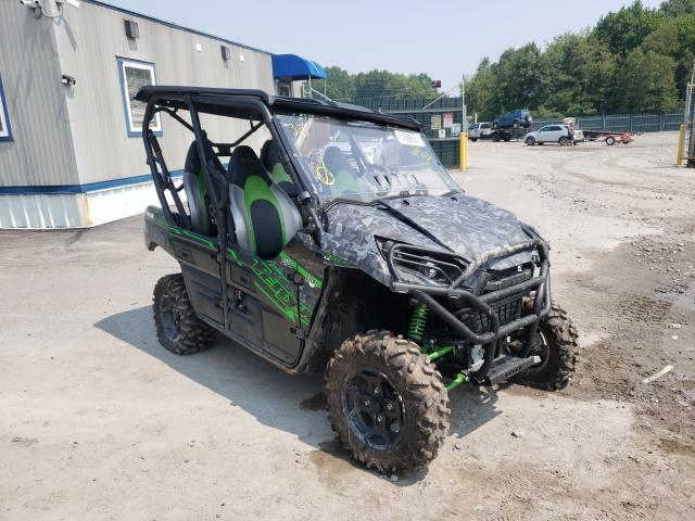 Salvage cars for sale from Copart Duryea, PA: 2021 Kawasaki KRT800 C