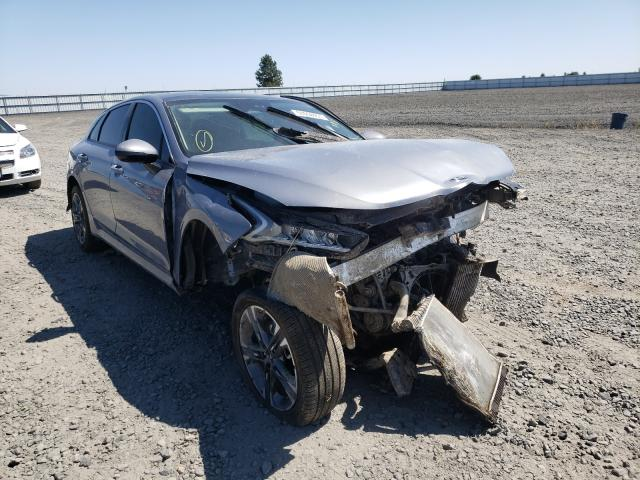 KIA salvage cars for sale: 2021 KIA K5 EX