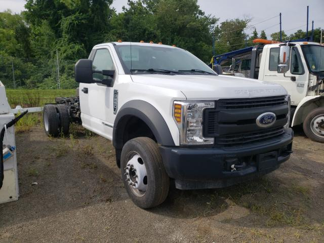 Salvage cars for sale from Copart Chambersburg, PA: 2018 Ford F550 Super