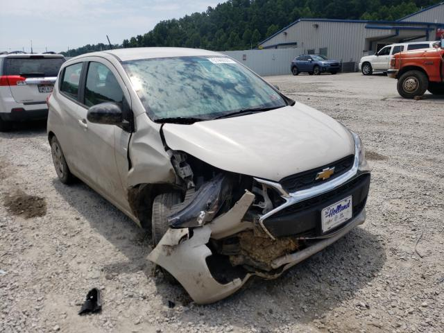 Salvage cars for sale at Hurricane, WV auction: 2019 Chevrolet Spark LS