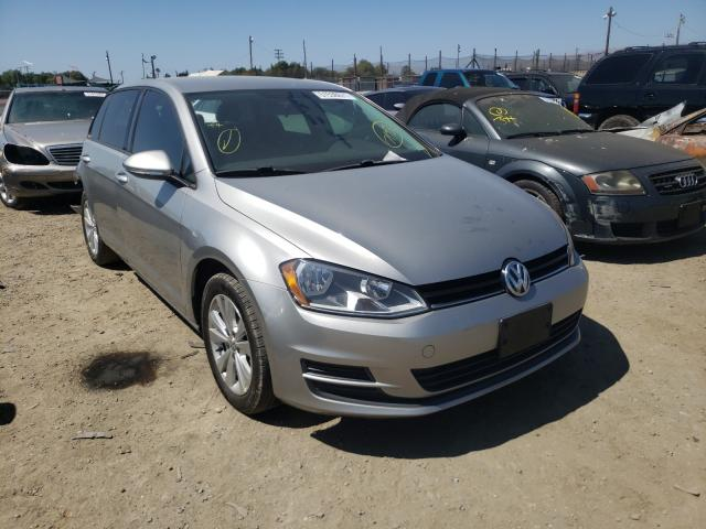 Salvage cars for sale from Copart San Martin, CA: 2015 Volkswagen Golf TDI