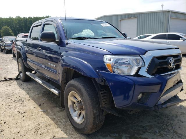 Salvage cars for sale from Copart Hampton, VA: 2015 Toyota Tacoma DOU