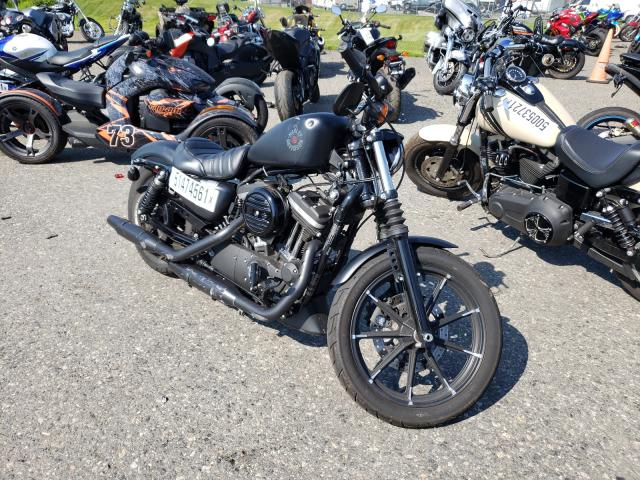 Salvage cars for sale from Copart Pennsburg, PA: 2020 Harley-Davidson XL883 N