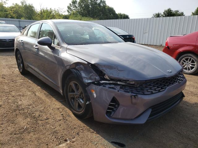 Salvage cars for sale from Copart Columbia Station, OH: 2021 KIA K5 LXS