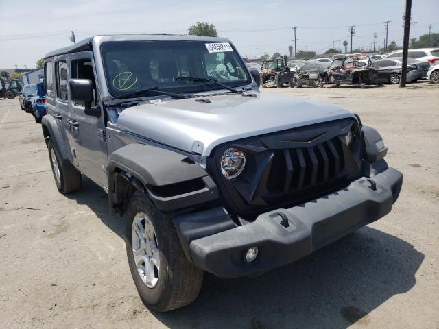 Salvage cars for sale from Copart Los Angeles, CA: 2019 Jeep Wrangler U