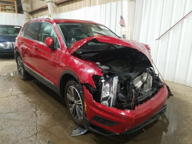 Salvage cars for sale from Copart Anchorage, AK: 2018 Volkswagen Tiguan SE