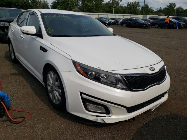 Salvage cars for sale from Copart New Britain, CT: 2015 KIA Optima EX