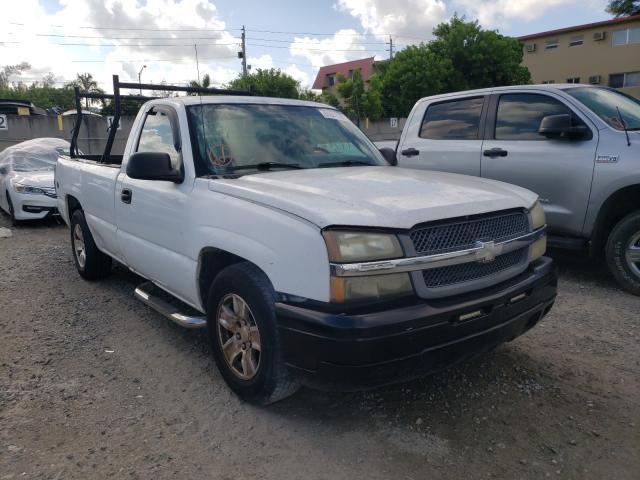 Salvage cars for sale from Copart Opa Locka, FL: 2005 Chevrolet Silverado
