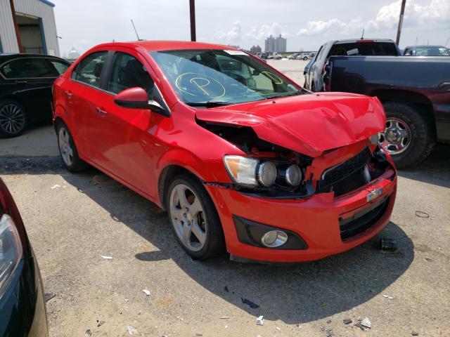 Vehiculos salvage en venta de Copart New Orleans, LA: 2015 Chevrolet Sonic LTZ