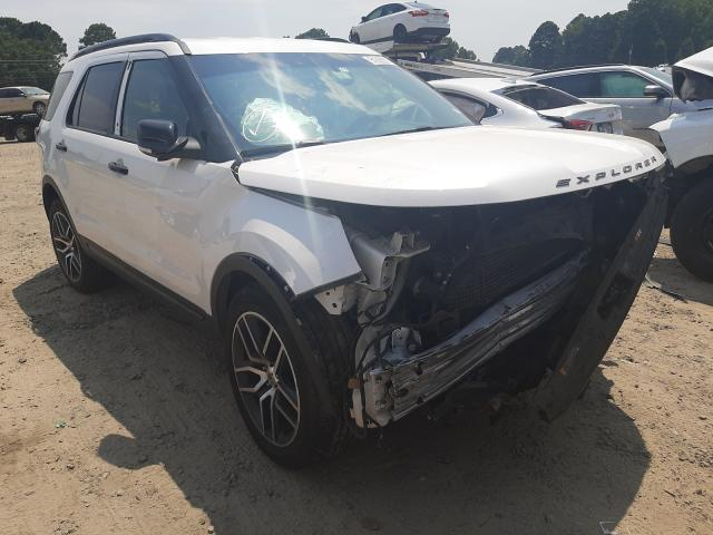 Salvage cars for sale at Conway, AR auction: 2016 Ford Explorer S