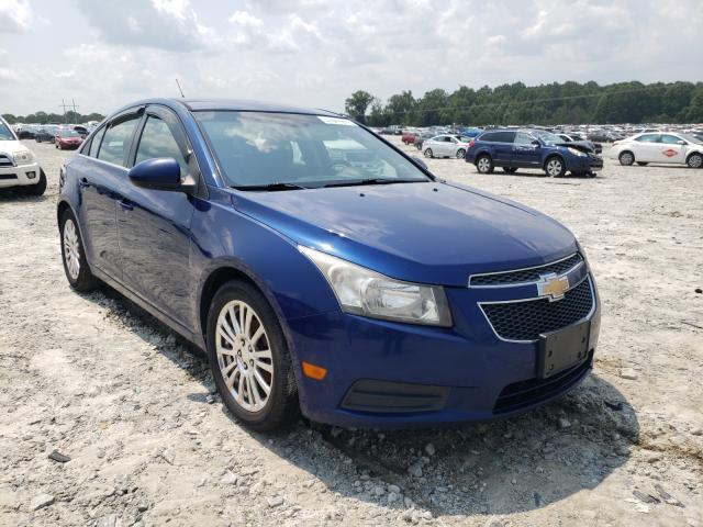 Vehiculos salvage en venta de Copart Loganville, GA: 2012 Chevrolet Cruze ECO